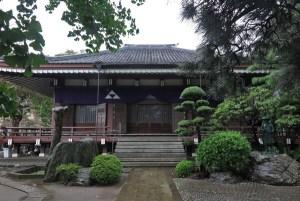 成福寺本堂。