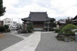 呼子坂の上にある清岩寺。
