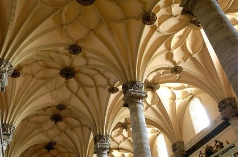 ZARAGOZA. Interior de la Lonja.