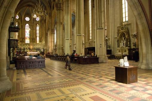 CROACIA. ZAGREB. Catedral de la Asunción de la Virgen y de San Esteban.