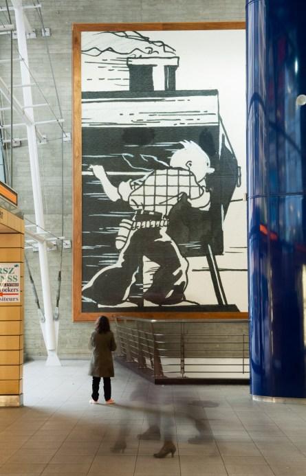 Bruselas Ruta Tintín