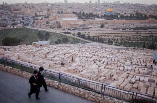 View of Jerusalem from Mount Olives, Jerusalem, Israel.