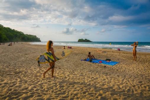 Punta Cocles Beach. Puerto Viejo de Talamanca. Limon Province. Costa Rica