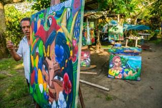 Urueña painter. Manzanillo. Limon Province. Costa Rica