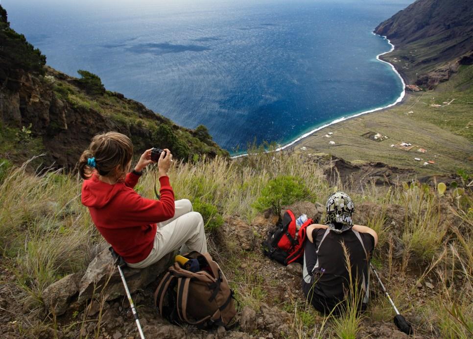 Camino de las Playas a Isora, Valverde, El Hierro, Canarias