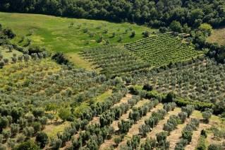 Valle de Orcia, Toscana, Italia