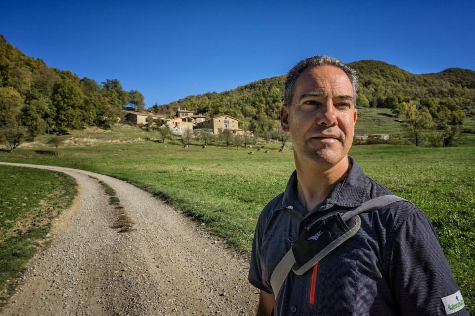 Evarist March, guía intérprete de la naturaleza.