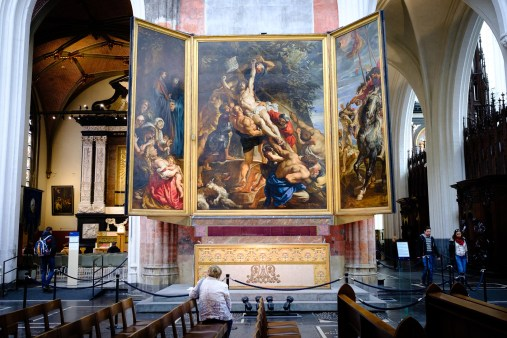 La elevación de la cruz, Rubens.