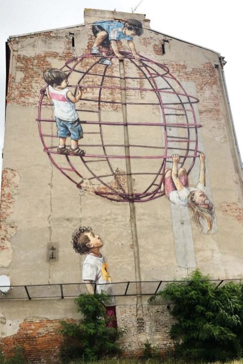 Mural barrio Praga.