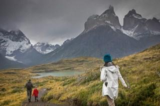 Mirador Cuernos del Paine.