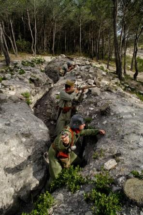 Trincheras de las Devees (cota 536).