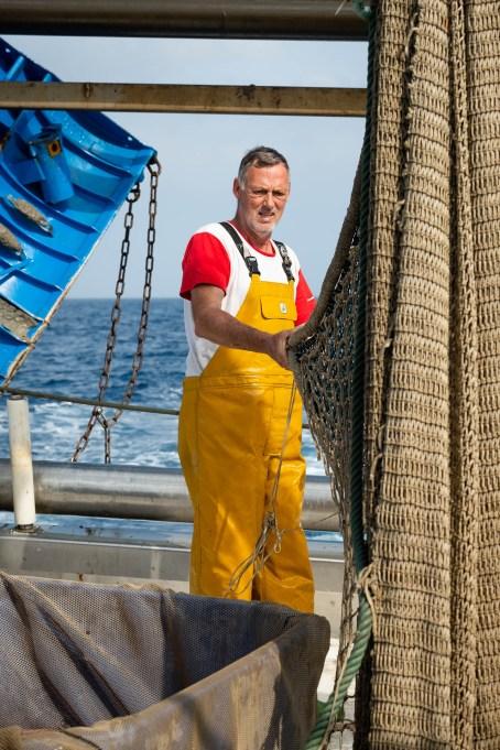 Pescador de la Nova Gasela.