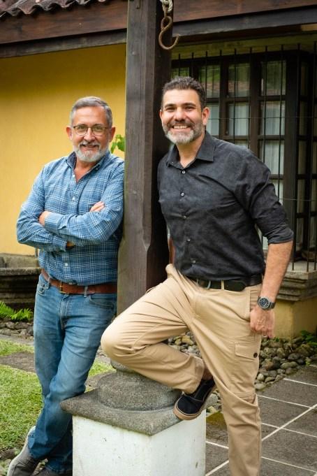 Julio Fernández y George Soriano, chocolates Sibú.