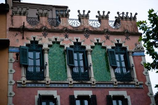 Casa Gaietà Vila, modernismo de Olot