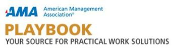 AMA Playbook logo