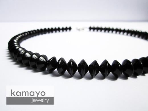 Black Onyx Necklace for Men