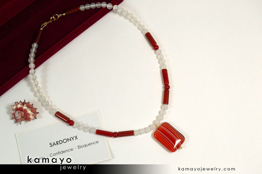 Sardonyx Necklace