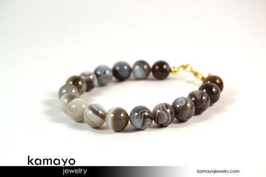 Botwana Agate Bracelet