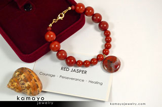 Red Jasper Bracelet - Buy Now