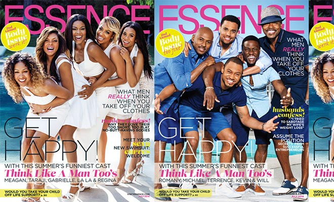"""Essence's July'14 Issue Débuts The Leading Cast  of the Movie """"Think Like a Man Too"""""""