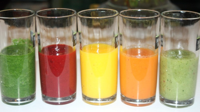 How to Make: The Rainbow Smoothies by Anita Gaitho