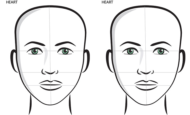 Top Best Hairstyles For Your Face Shape: Heart Shape