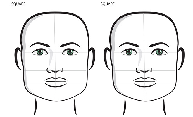 Top Best Hairstyles For Your Face Shape: Square Shape