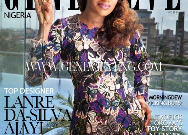 Lanre Da Silva for the Cover of Genevieve Magazine's March 2015 Issue
