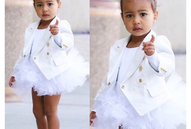 Fashionable Looks of North West