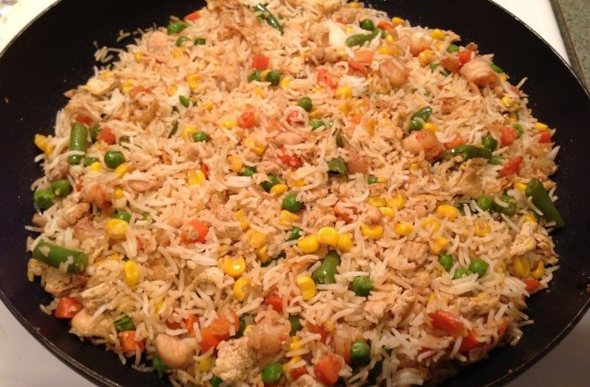 How to Cook What: Chinese Fried Rice