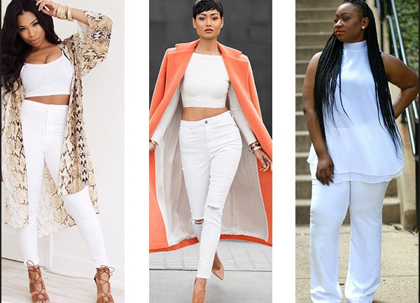 How to Rock White Pants