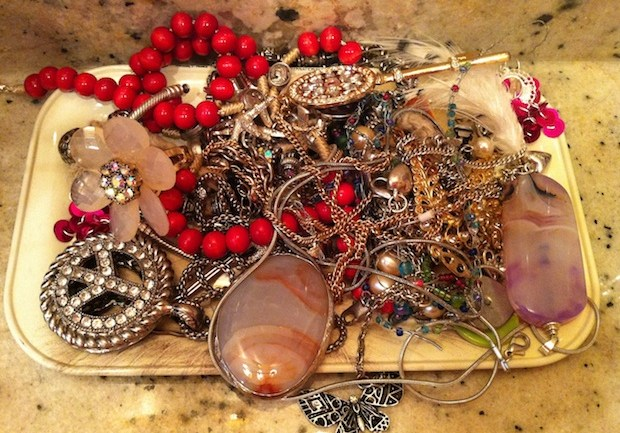 Tangled Neckpieces
