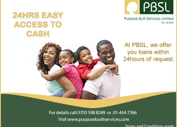 Purpose Built Services Limited (PBSL) to the Rescue!