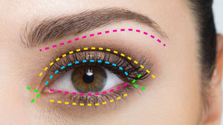 A Complete Guide To Where To Put Your Eye Makeup