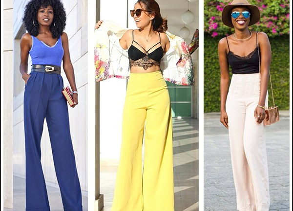 Sexy Different Ways to Rock Palazzo Pants