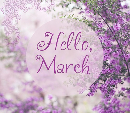 Happy New March!!!!