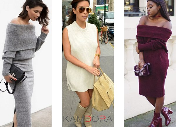 Knit Dresses Are It!