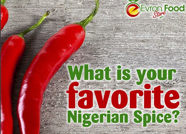 Top Ten Nigerian Cooking Spices