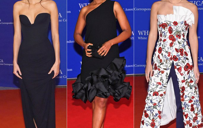 Best Red Carpet Looks From The White House Correspondents Dinner 2016!