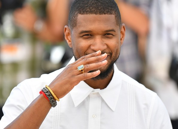 MCOTD: There Goes Our Baby! Usher Dazzles In White At Cannes 2016