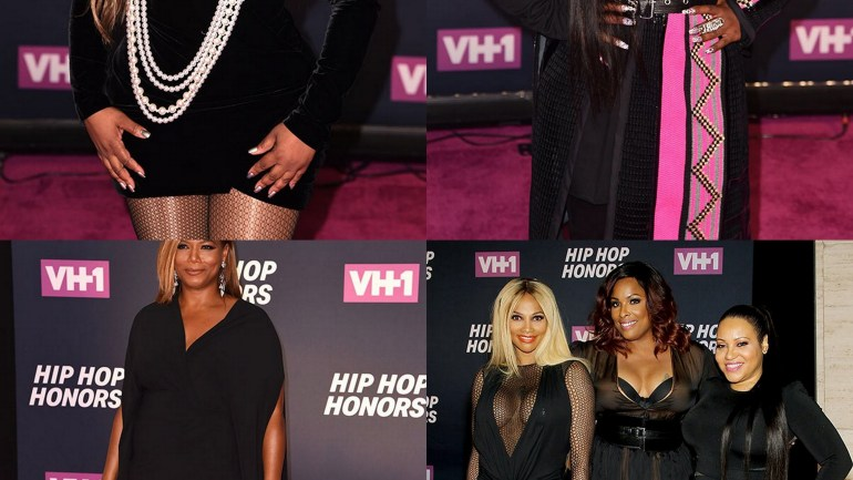 Queen Latifah, Missy Elliott, Lil Kim and Others Honoured at VH1 Hip-Hop Honours 2016 (Photos)