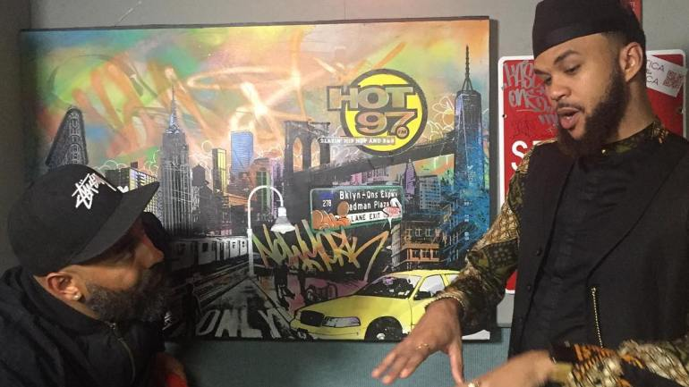 Jidenna Talks About His Trip to Africa and How Tiwa Savage, Wizkid and Davido are Making Waves Internationally [Watch]