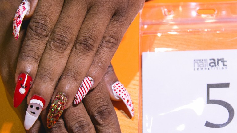 See all the Photos from the Second Edition of the Africa's Nail Art Competition