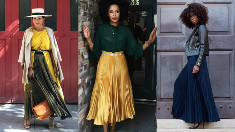 How Do You Wear Your Pleated Skirt?