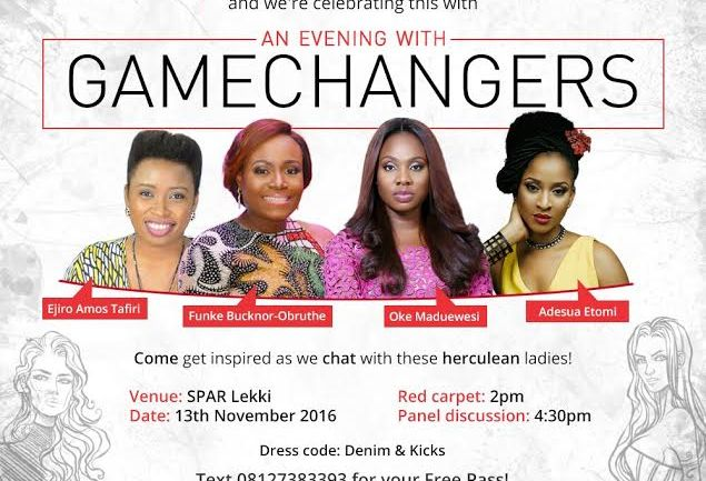 Come Join Bland2Glam X SPAR in an Evening with Game Changers!
