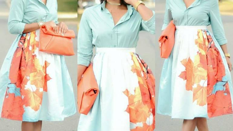 Fashion For Church #64: Flared Skirts/ Dresses For Sunday!
