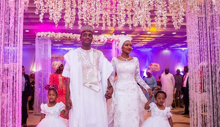 Official Images of President's Daughter Zahra Buhari Wedding to Billionaire's Son Ahmed Indimi  – #zahmed2016
