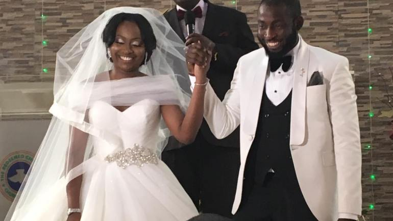 See Beautiful Fireworks Display At Mr And Mrs Abiodun Wedding Ceremony!