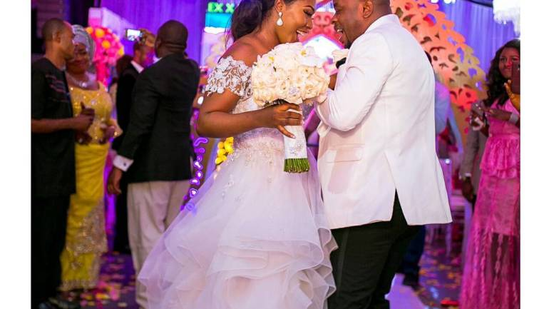 """See Nigerian Couple Queen Nkiru & King Sylvester Getting Married In Grand Style – """"A Match Made From Heaven""""!"""
