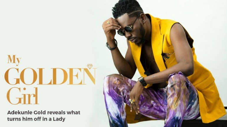 Kamdora Exclusive: Birthday Boy 'Adekunle Gold' Tells Kamdora 5 Things A Woman Can Do To 'Turn Him Off'!